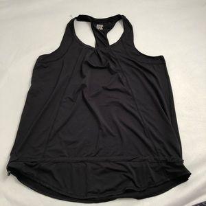 32 Degrees women's black workout/yoga tank